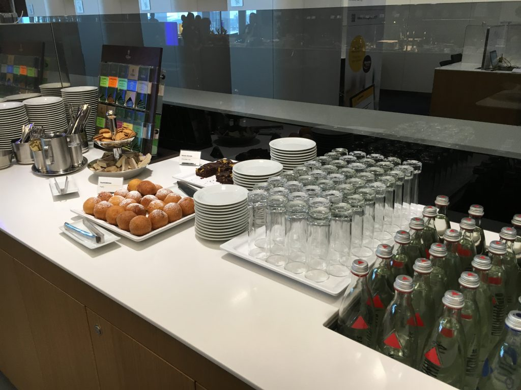 Lufthansa Senator Lounge Frankfurt Abflugbereich A Buffet