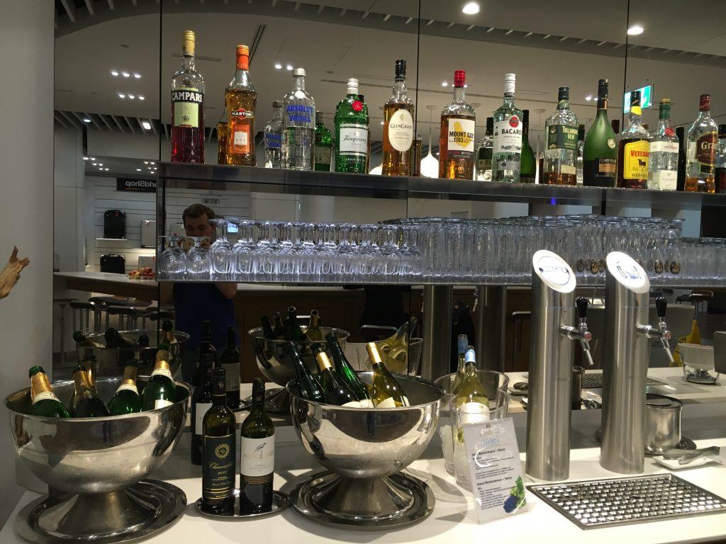 Lufthansa Senator Lounge Frankfurt Abflugbereich A Getränke