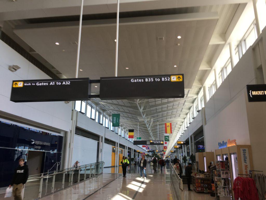 Lufthansa Senator Lounge IAD