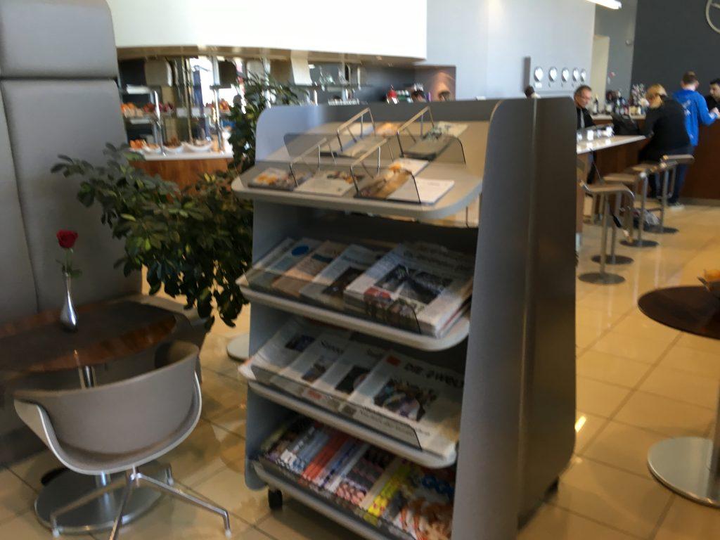 Lufthansa Senator Lounge IAD-Magazine2