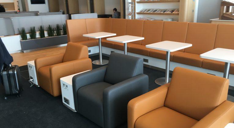 InsideFlyer Wochenrückblick Lufthansa Business Lounge Satellit Schengen