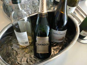 Lufthansas Senator Lounge Dertoit DTW-Drink2