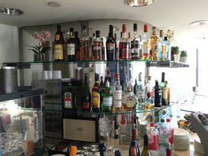 Lufthansas Senator Lounge Dertoit DTW-Drink3