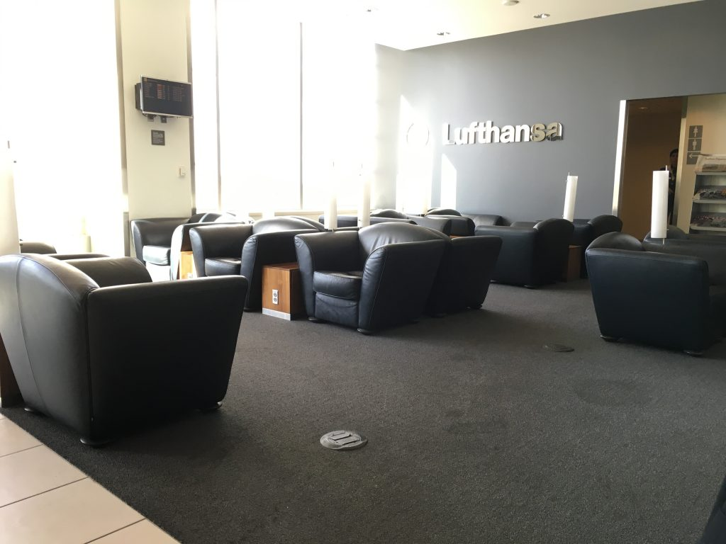 Lufthansas Senator Lounge Dertoit DTW-Lounge