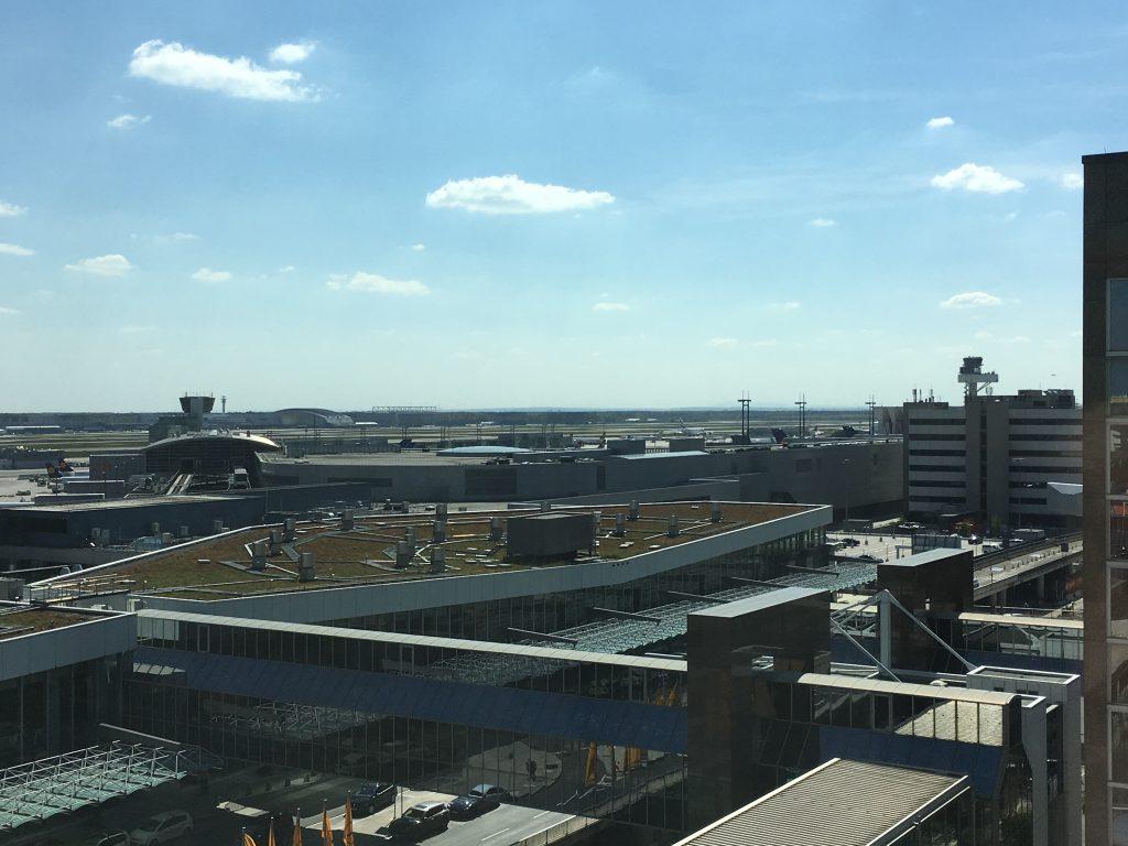 Sheraton Frankfurt Airport Ausblick
