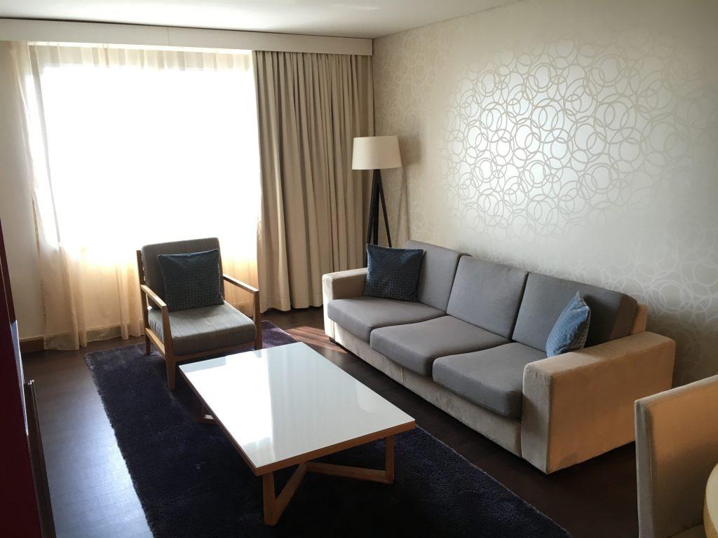 Sheraton Frankfurt Airport Club Suite