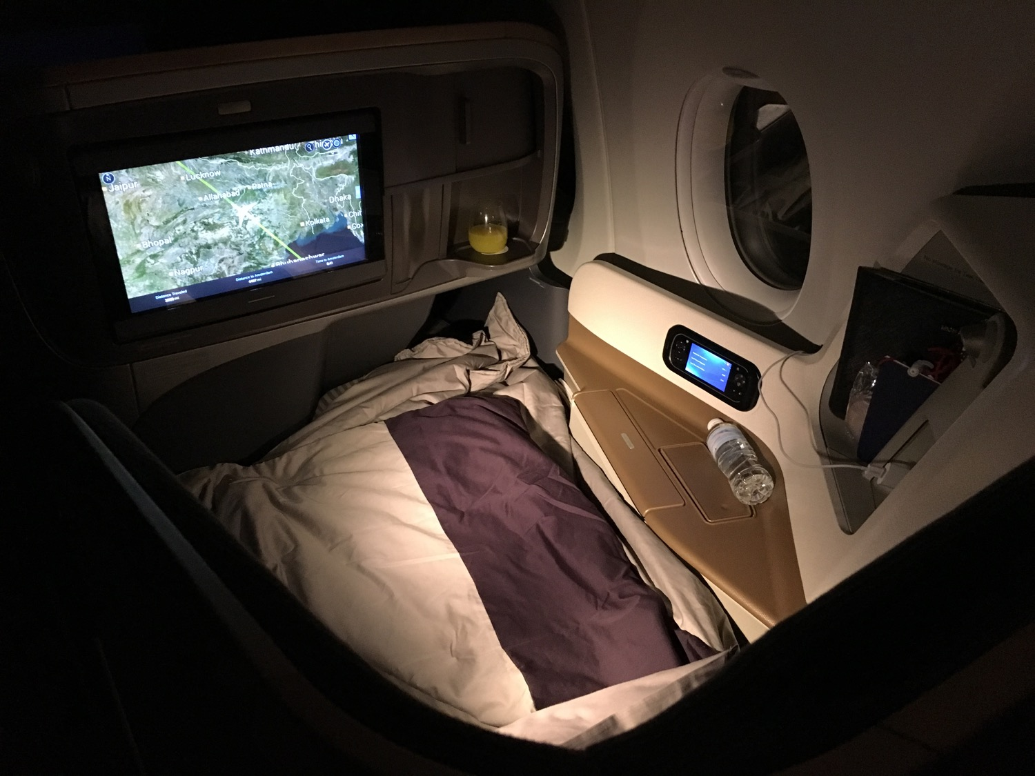 Singapore Airlines A350 Business Class Bett - 1