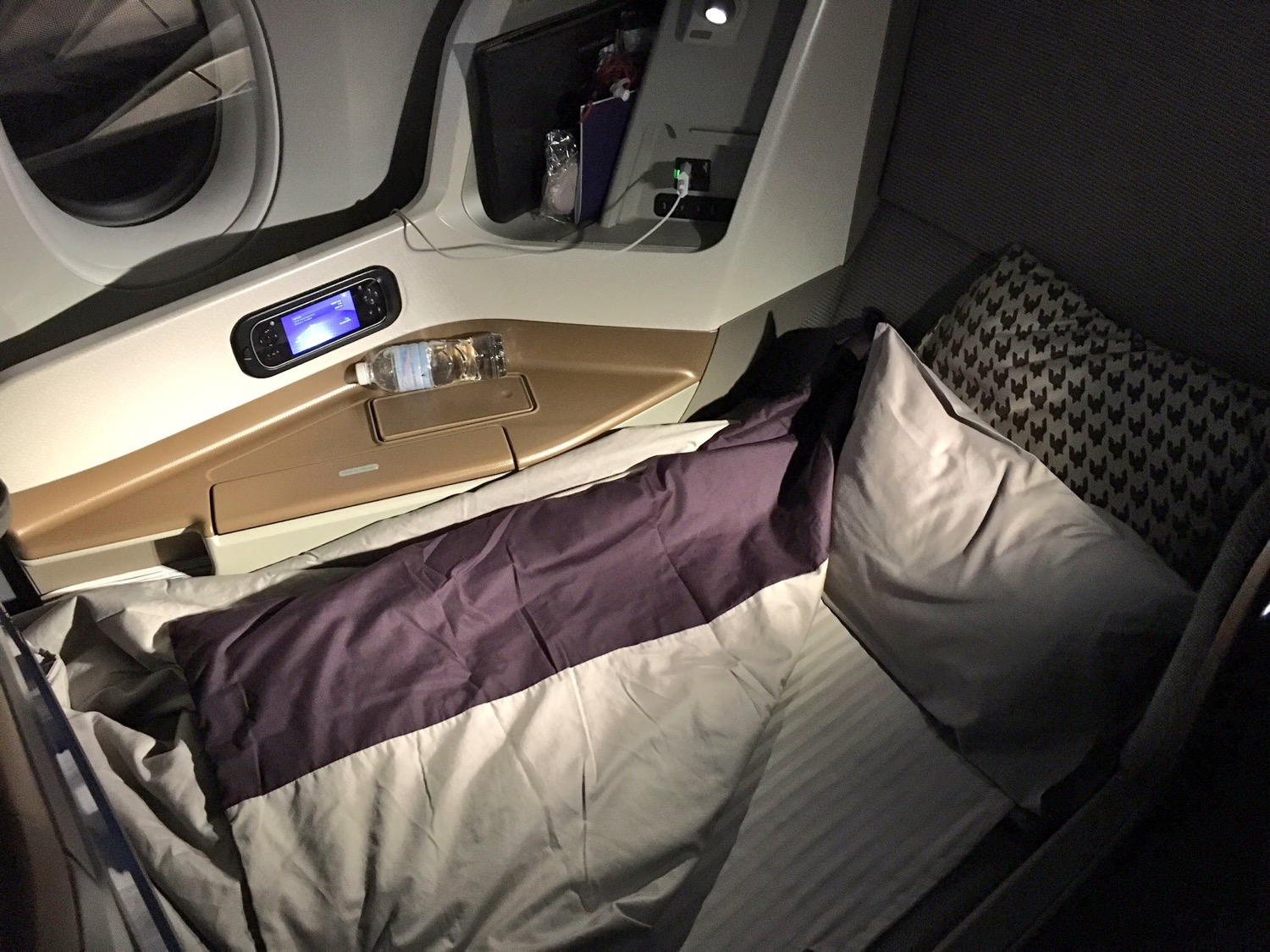 Singapore Airlines A350 Business Class Bett - 2