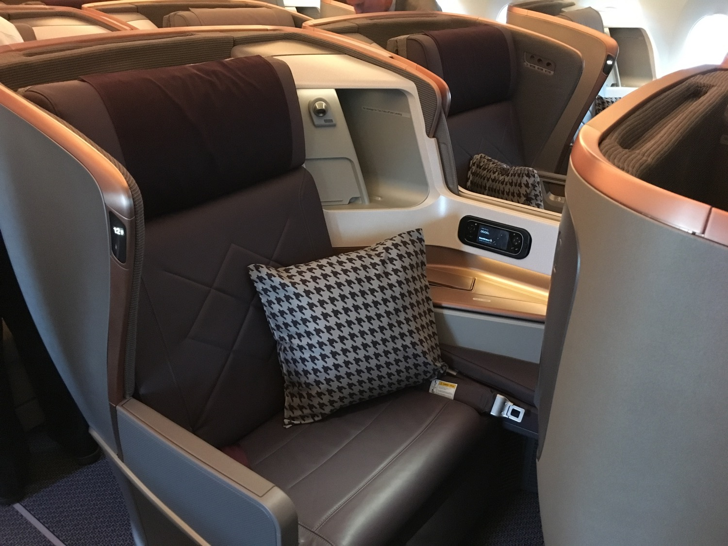 Singapore Airlines A350 Business Class Sitz - 1