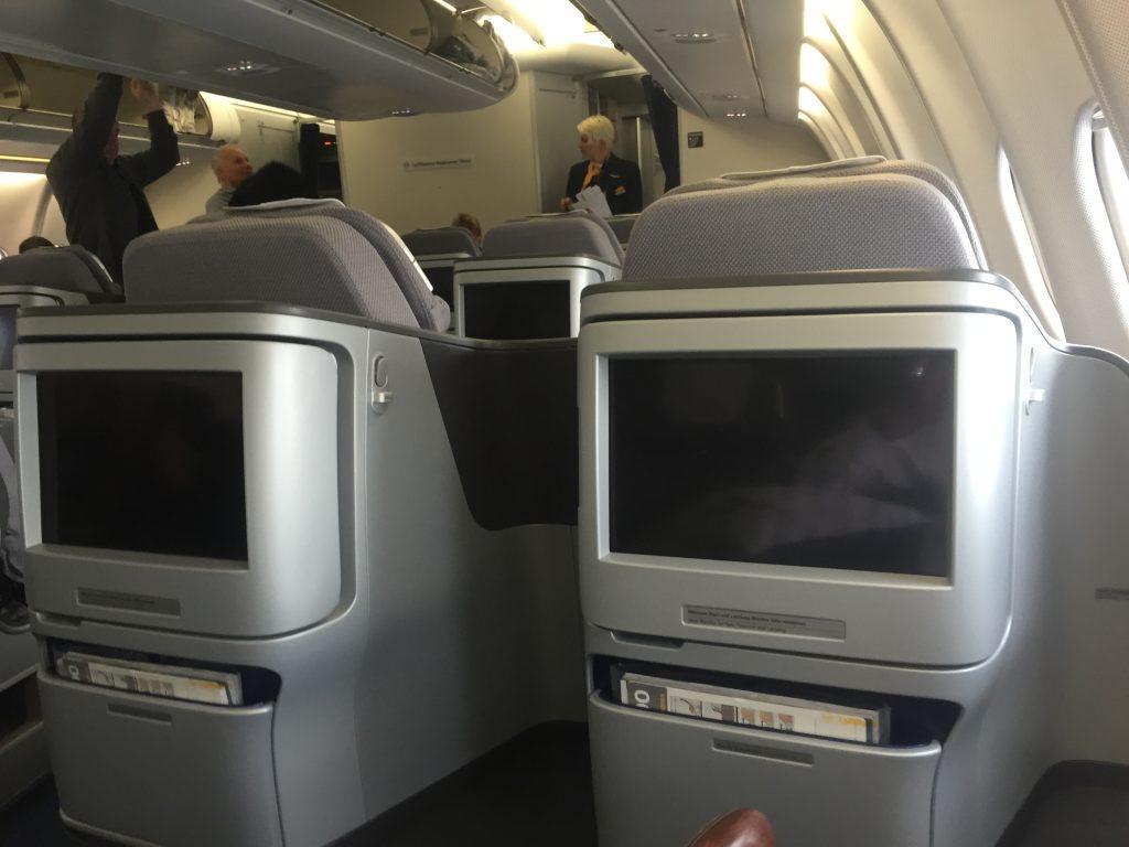 Lufthansa Business Class- Sitz