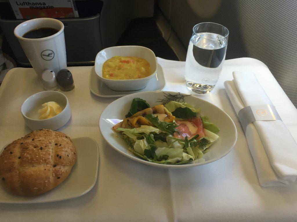 Lufthansa Business Class - Snack