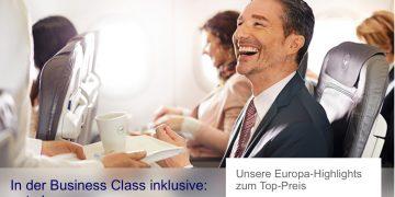 Lufthansa Europa Business Class Angebote