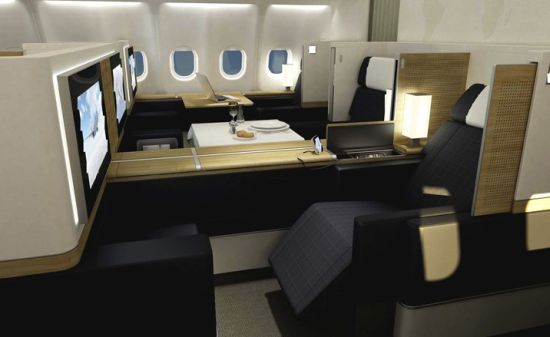 SWISS First Class Sale ab London