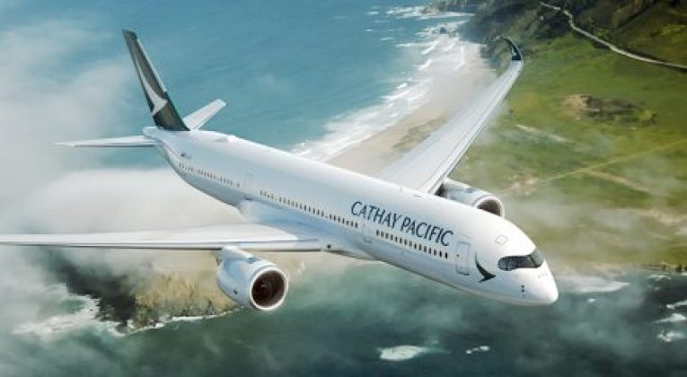 Cathay Pacific Welcome A350 Fan Sale