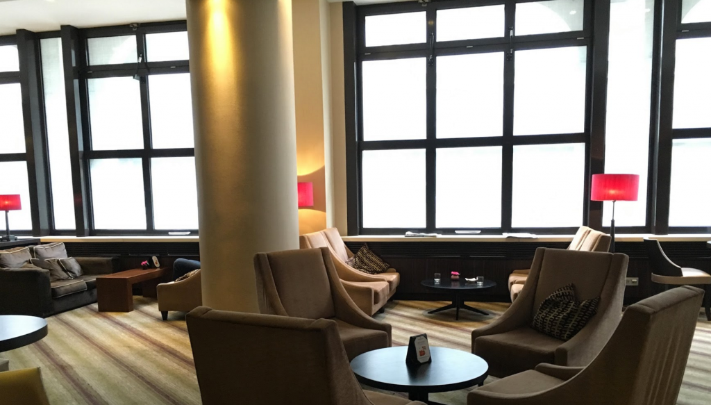 Hilton Berlin Executive Lounge