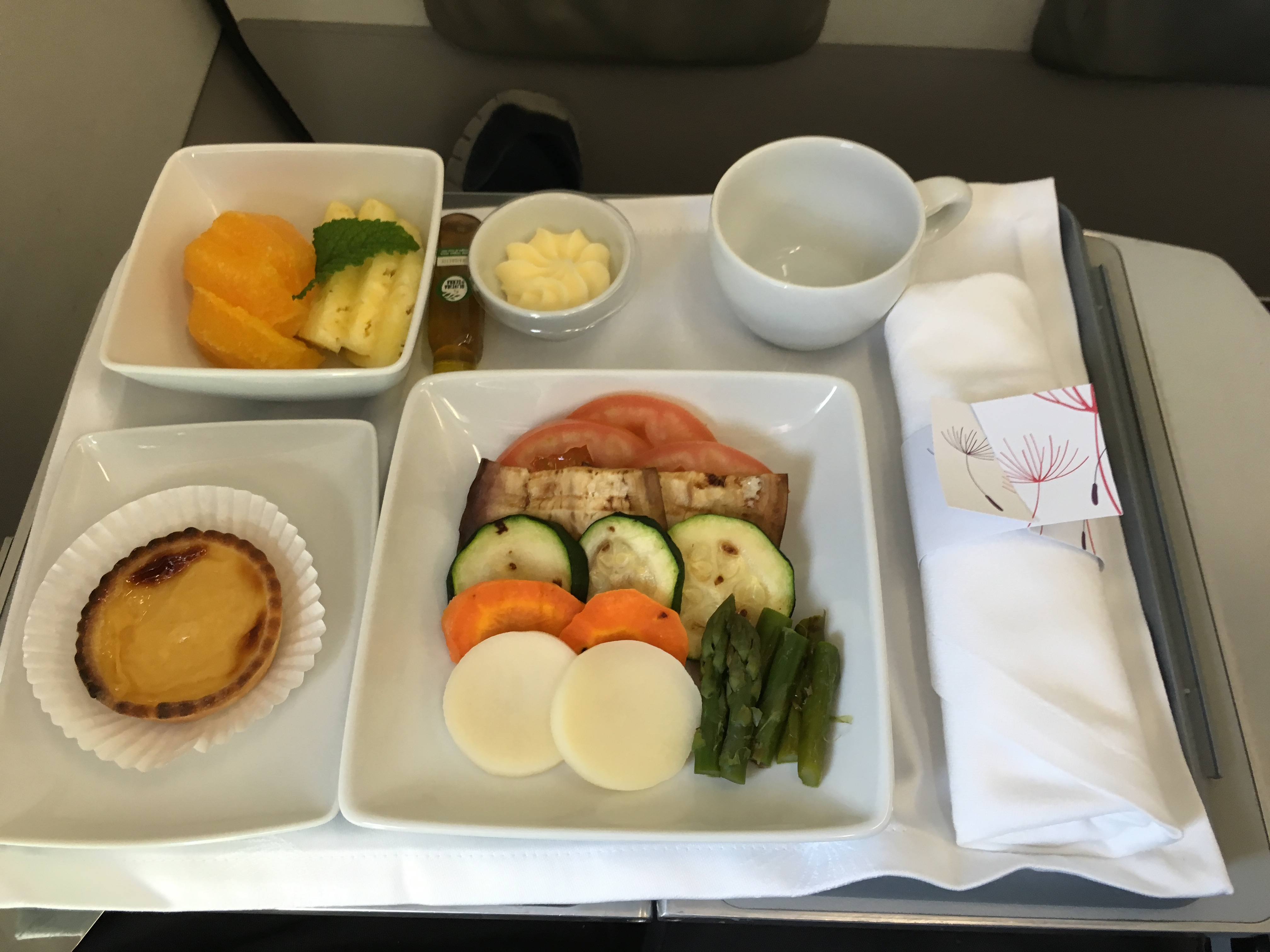 TAP Portugal Europa Business Class Catering