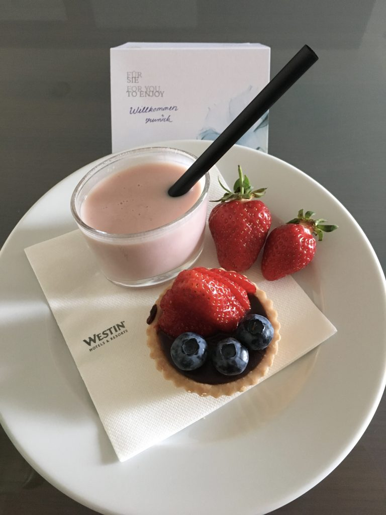 Westin Grand Frankfurt Treatment