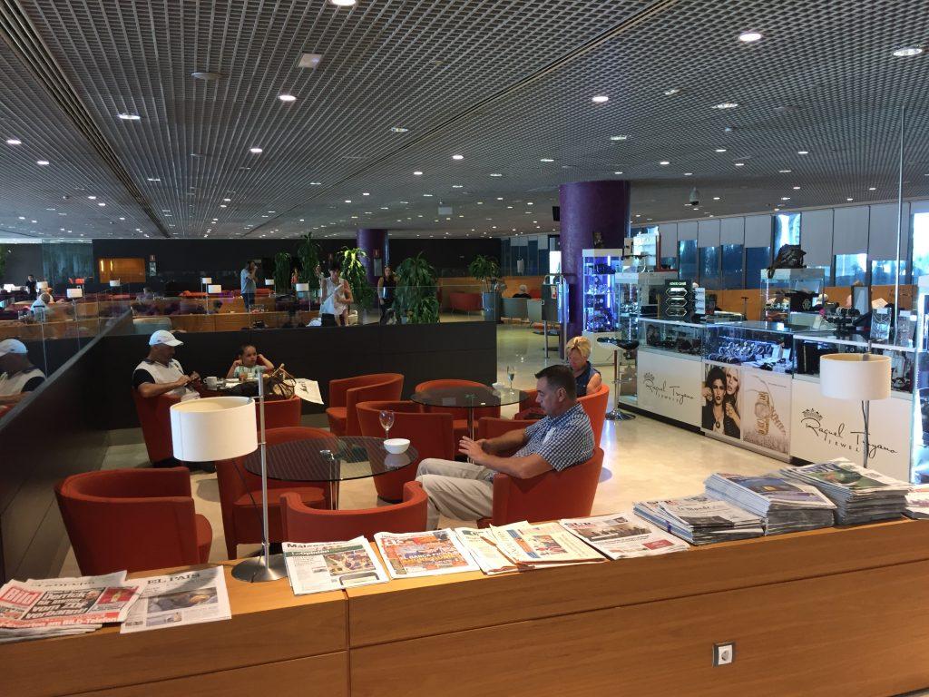 Vip Lounge Malaga - Layout