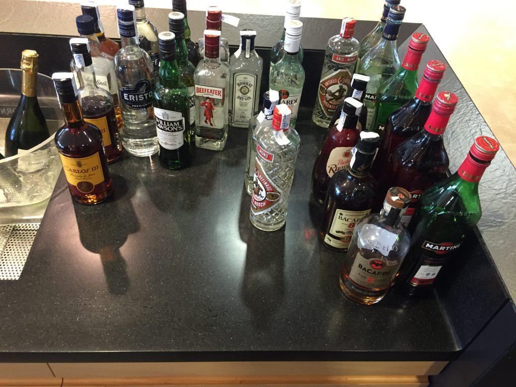 VIP Lounge Malaga - Alkoholische Getränke