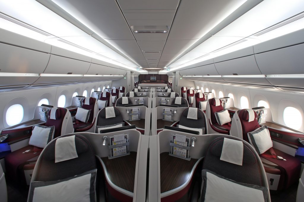 Qatar Airways Business Class Sale nach Asien