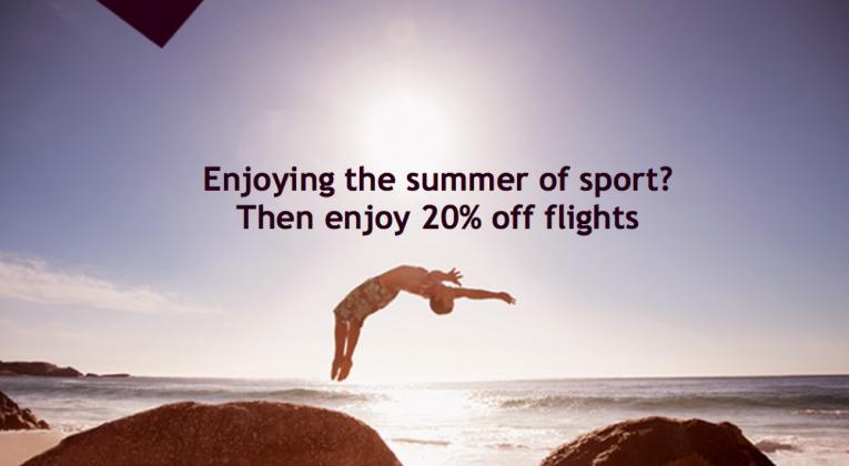 20 Prozent Rabatt bei Etihad Airways