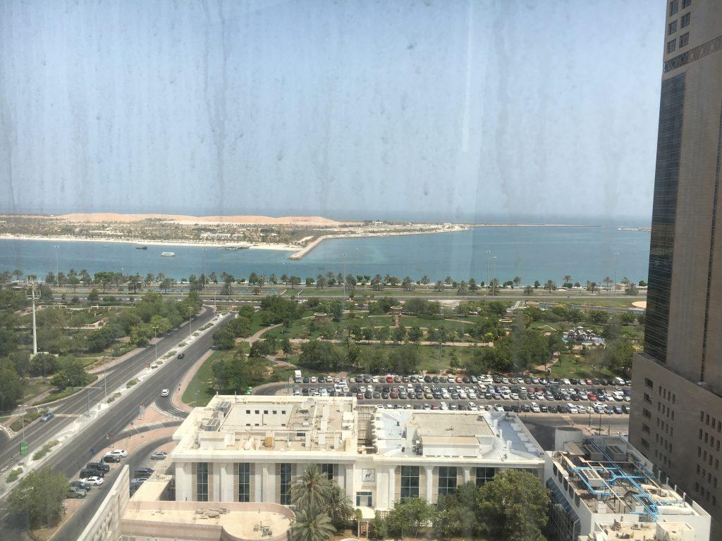 Le Royal Méridien Abu Dhabi Ausblick