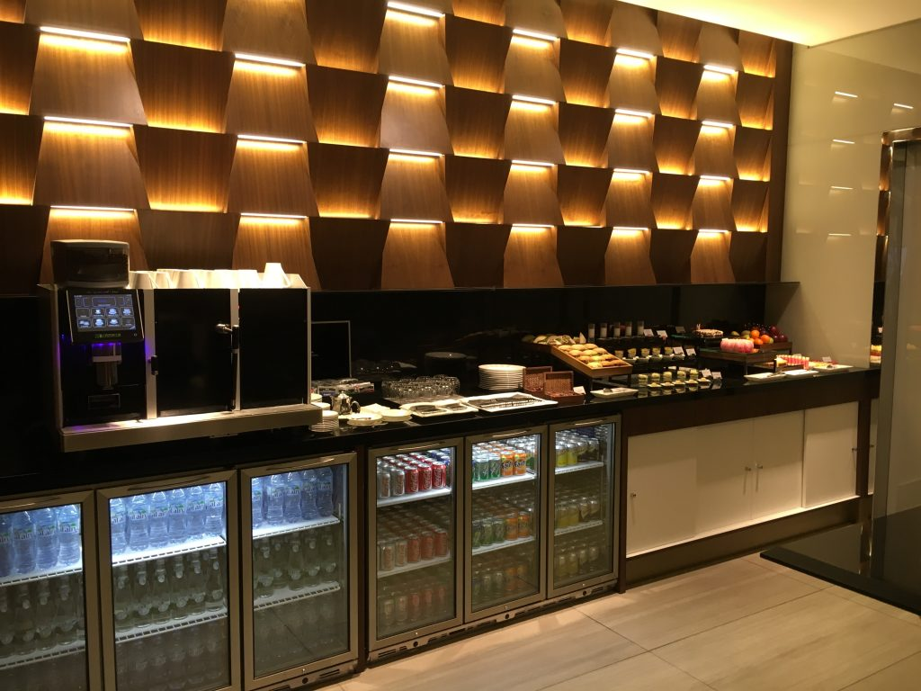 Etihad Airways First Class Lounge & Spa Abu Dhabi Buffet