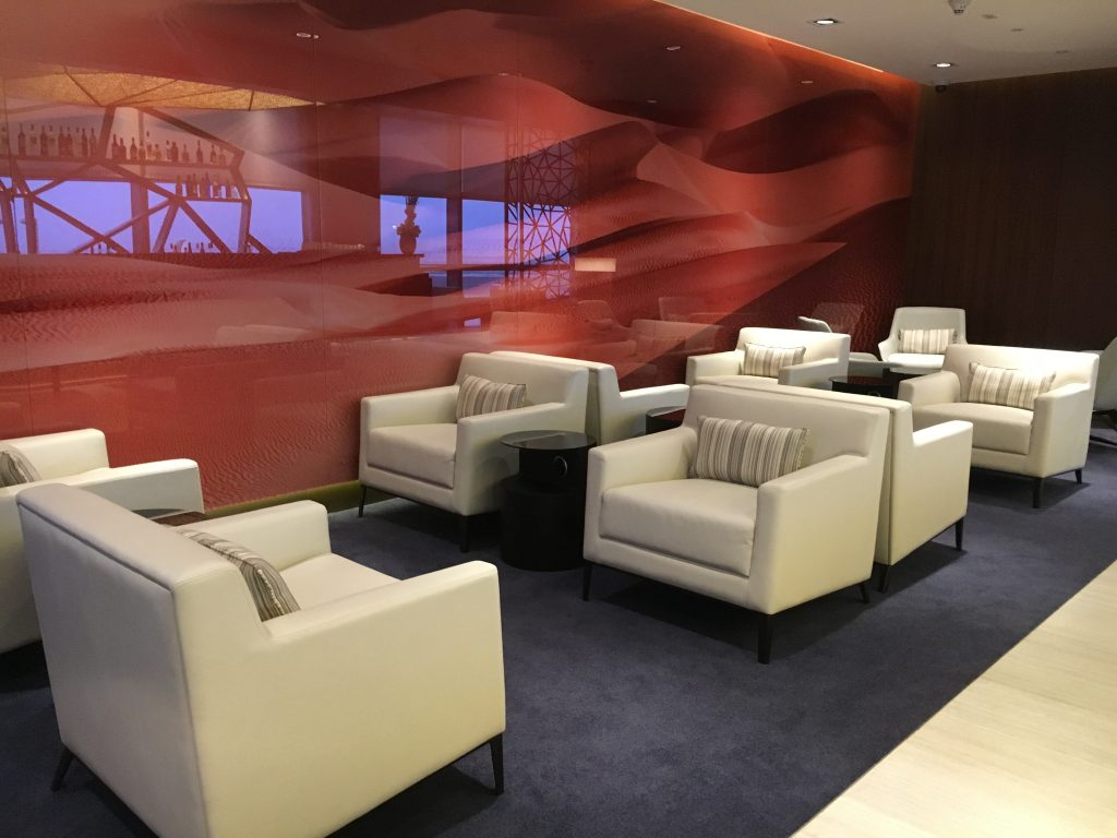 Etihad Airways First Class Lounge & Spa Abu Dhabii