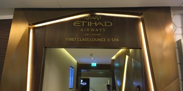 Etihad Airways First Class Lounge & Spa Abu Dhabi