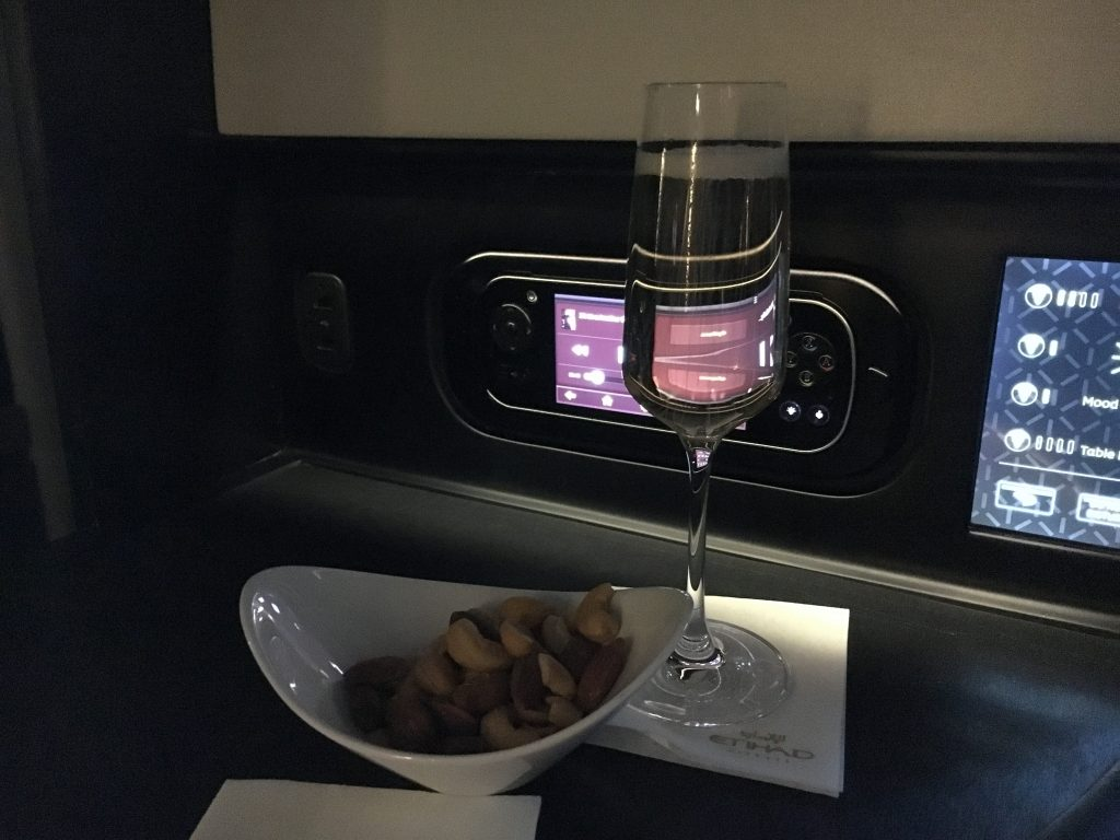 Etihad Airways Business Class Studio Aperitif