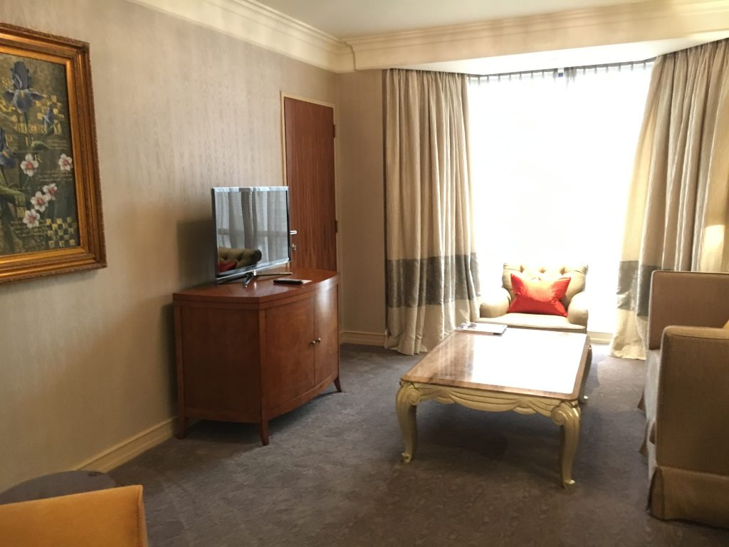 Sheraton Towers Singapore Executive Suite Wohnzimmer