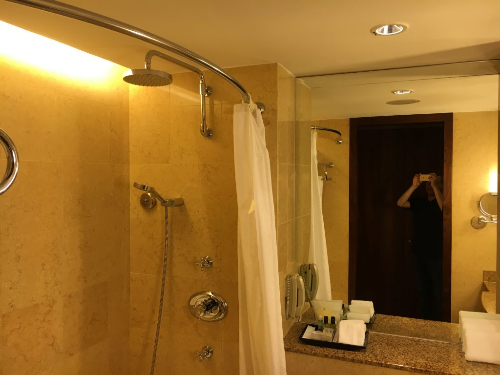 Sheraton Towers Singapore Executive Suite Badezimmer