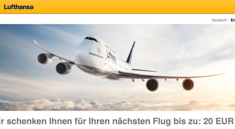 InsideFlyer Wochenrückblick Lufthansa Gutschein