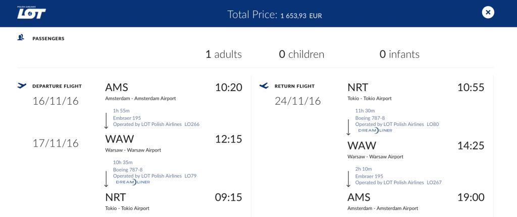 Lufthansa Statusmeilen mit LOT sammeln