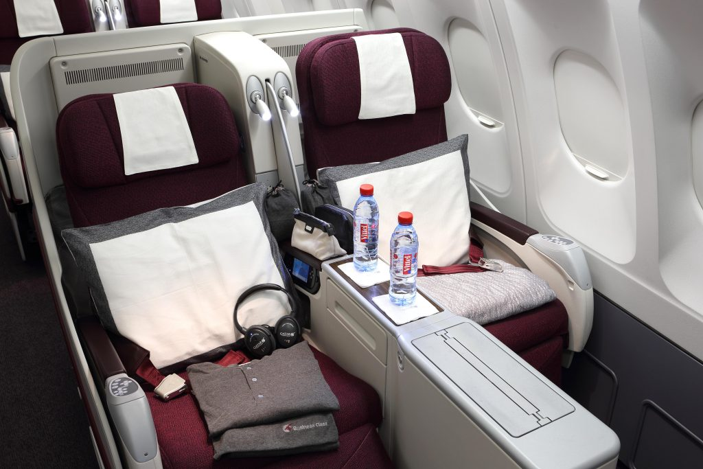 Qatar Airways Travel Festival Business Class