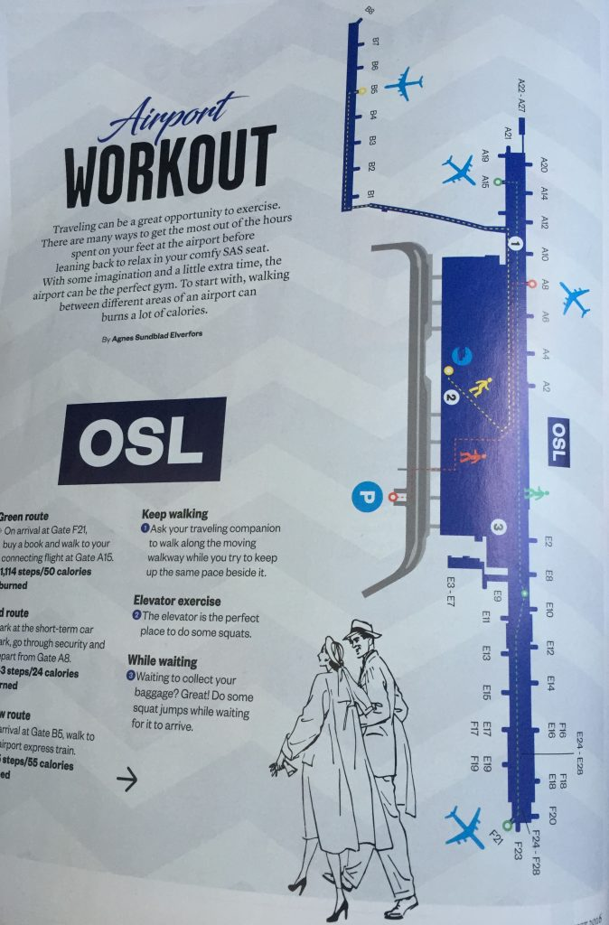 SK MAG - Airport Workout
