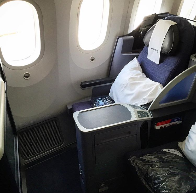 United Airlines Domestic First Class - Sitz