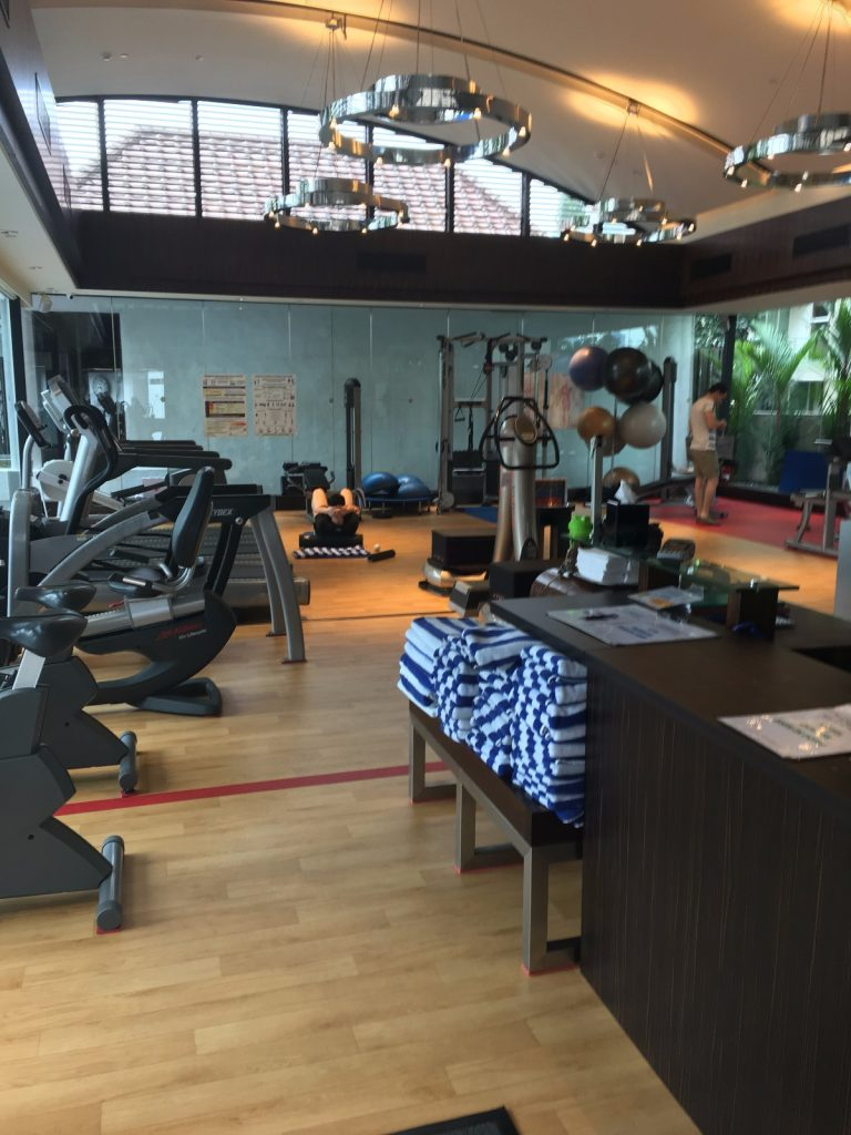 Sheraton Towers Singapore Gym
