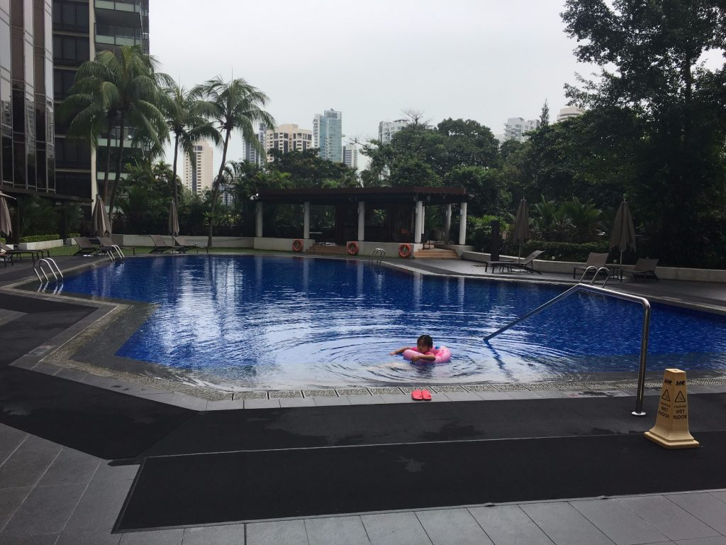 Sheraton Towers Singapore Pool
