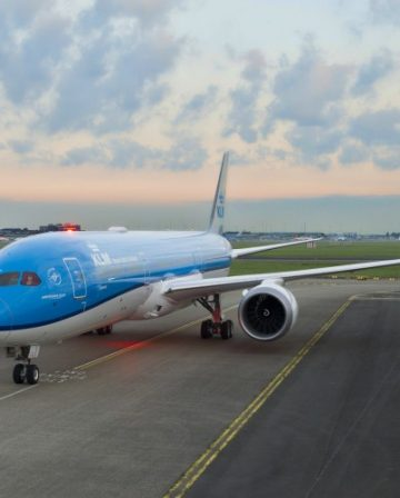 KLM Business Class nach Bangkok