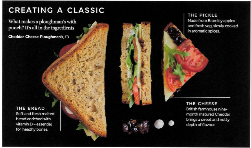 British Airways Catering Sandwiches