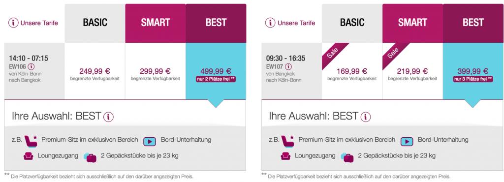Lufthansa Statusmeilen mit Eurowings sammeln