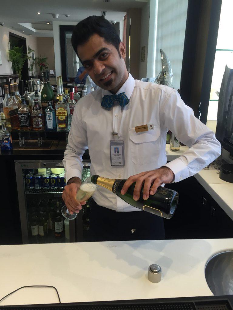 Oman Air Lounge Muscat -Bar