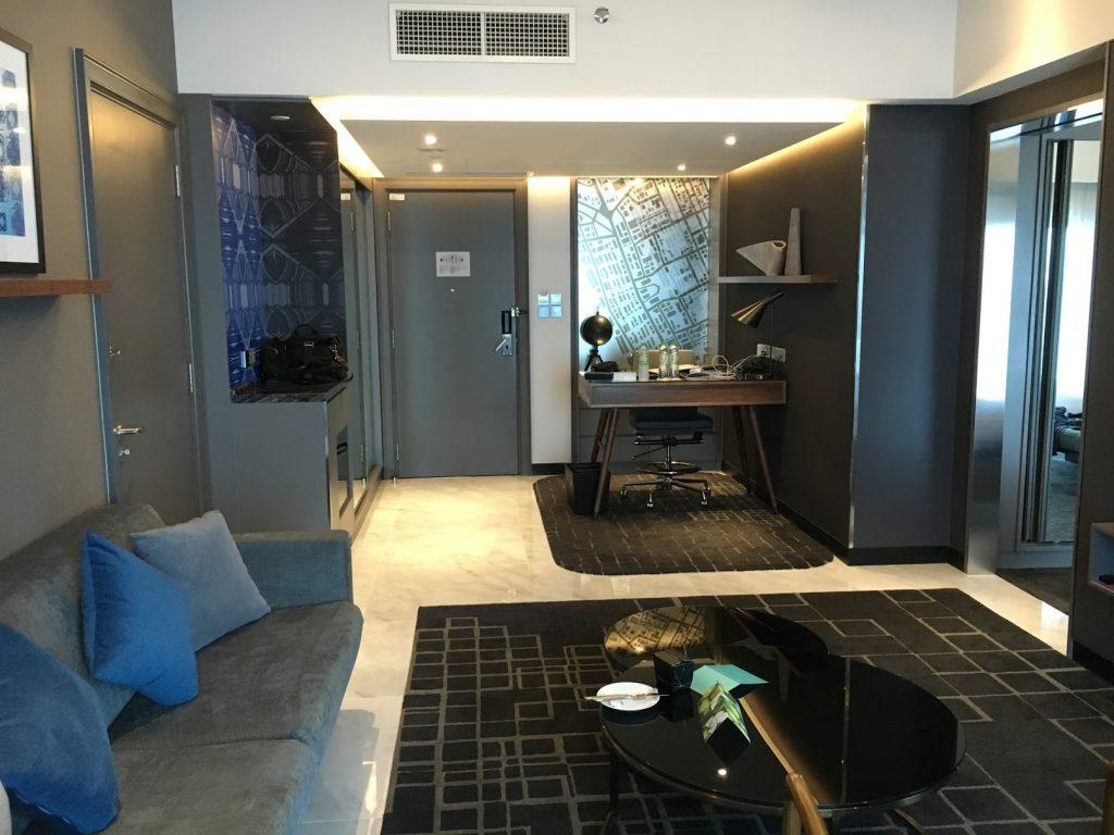 Le Méridien Kuala Lumpur Suite Wohnzimmer