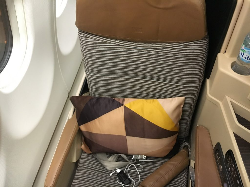 Etihad Airways vor meinem Alitalia Business Class Flug
