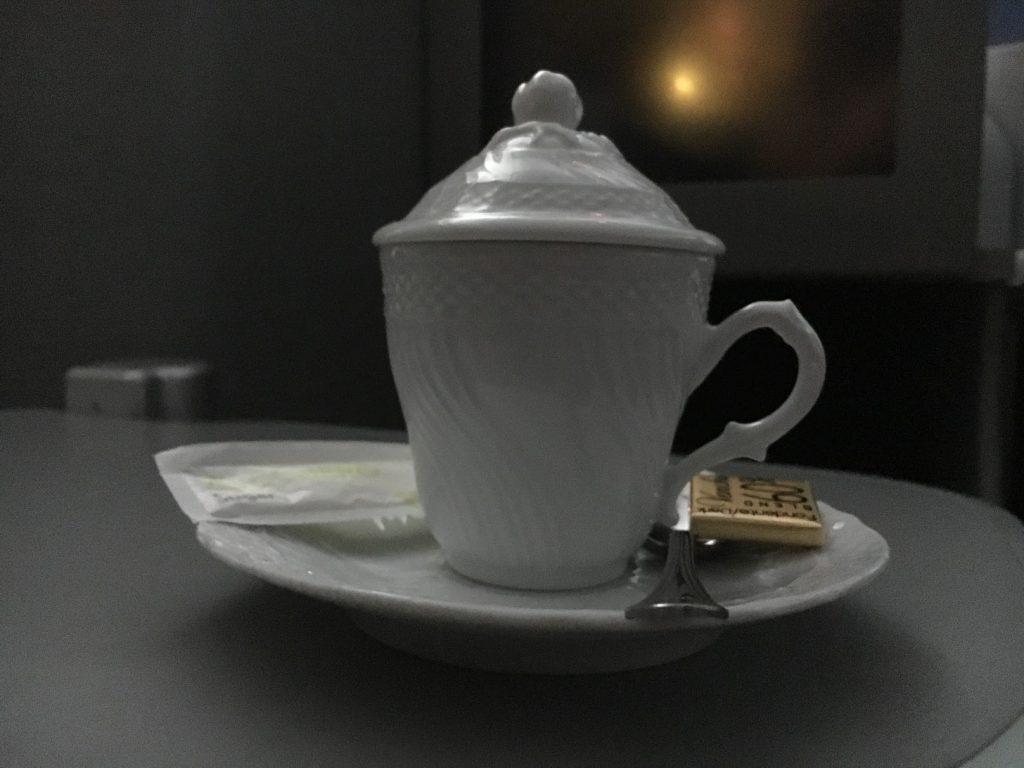 Alitalia Business Class Espresso