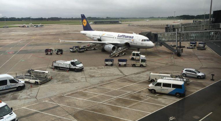 Lufthansa Business Class Frankfurt Moskau