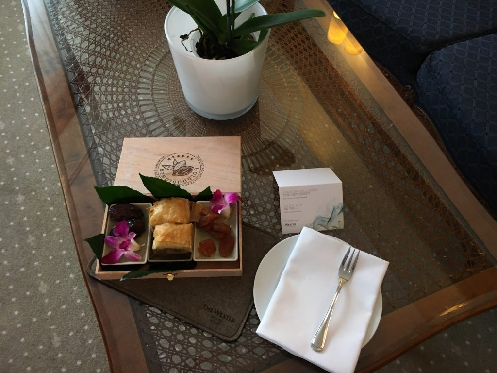 The Westin Grand Berlin Welcome Treatment