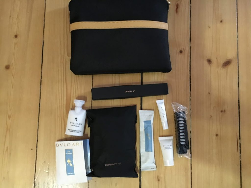 Alitalia Business Class Amenity Kit