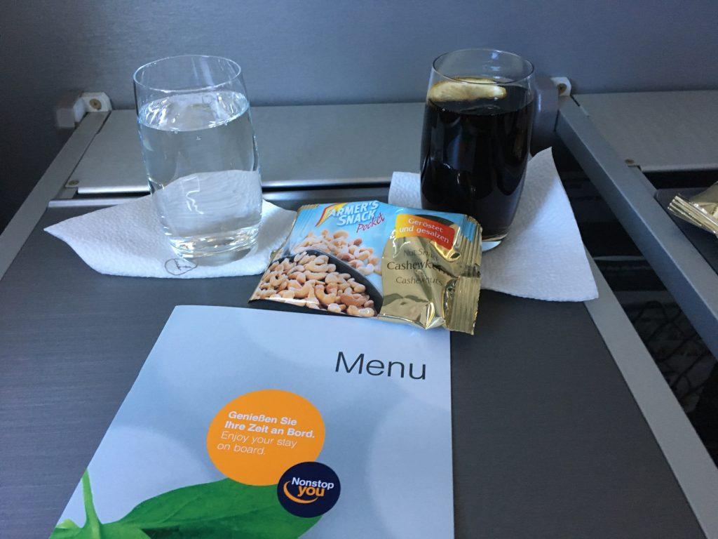 Lufthansa Business Class Snack
